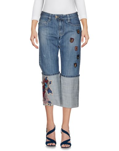 Джинсовые брюки-капри KENZO JEANS 42584578SV