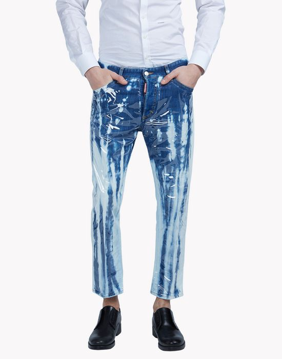 glam head jeans jeans  Homme Dsquared2