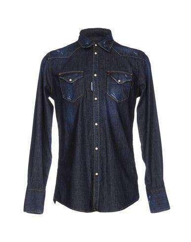 Джинсовая рубашка DSQUARED2 42590503RM