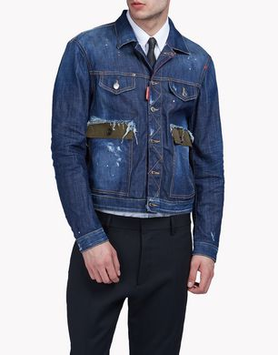 DSQUARED2 Denim outerwear U S74AM0734S30342470 f