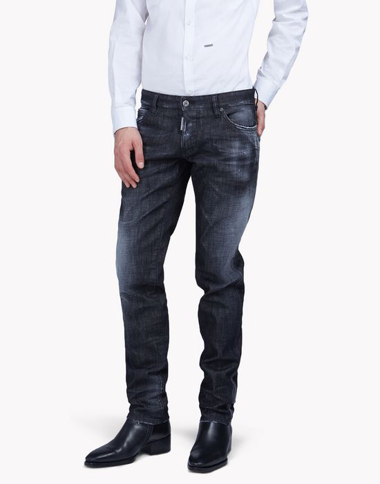 slim jeans denim Herren Dsquared2