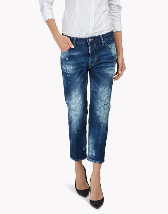 tomboy jeans denim Woman Dsquared2
