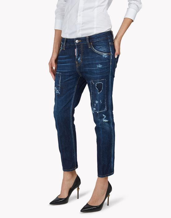 cool girl cropped jeans jeans  Femme Dsquared2