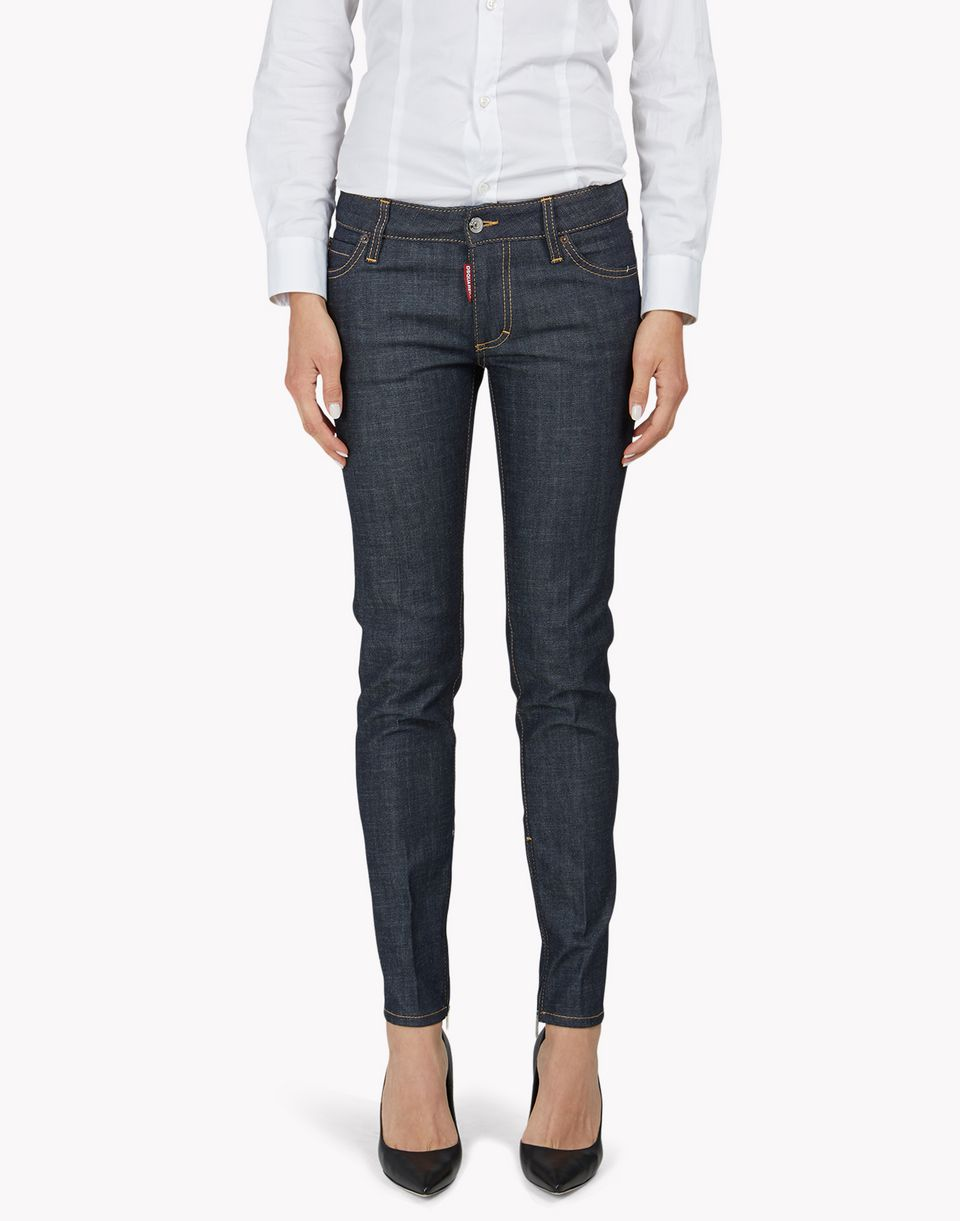 medium waist skinny jeans denim Damen Dsquared2