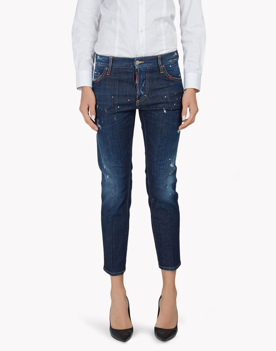 boyfriend jeans denim Damen Dsquared2