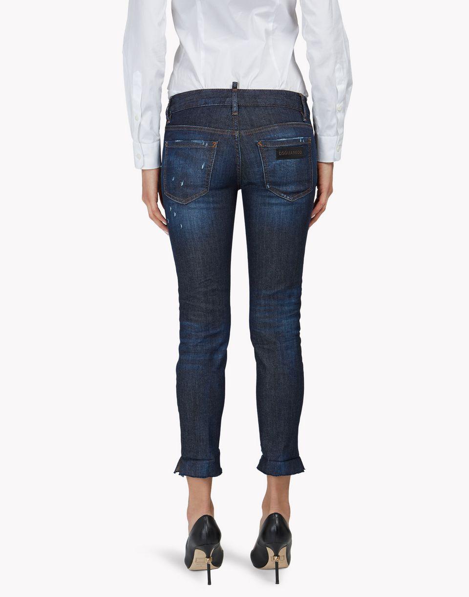 skinny cropped jeans denim Damen Dsquared2