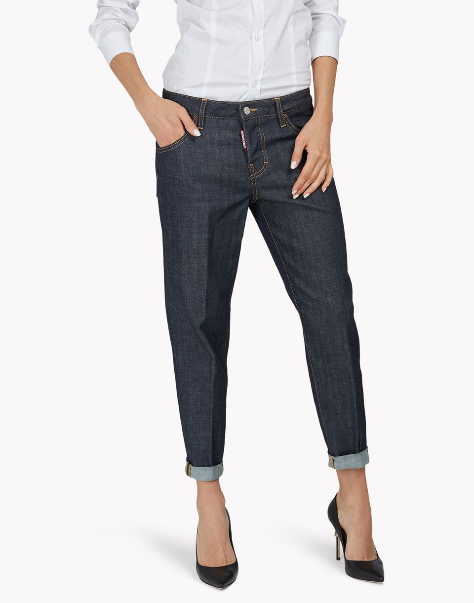 hockney jeans denim Woman Dsquared2