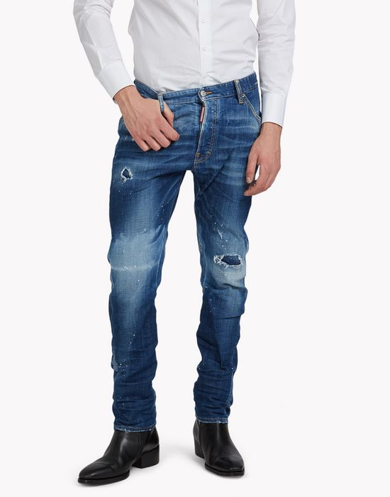 classic kenny twist jeans denim Man Dsquared2