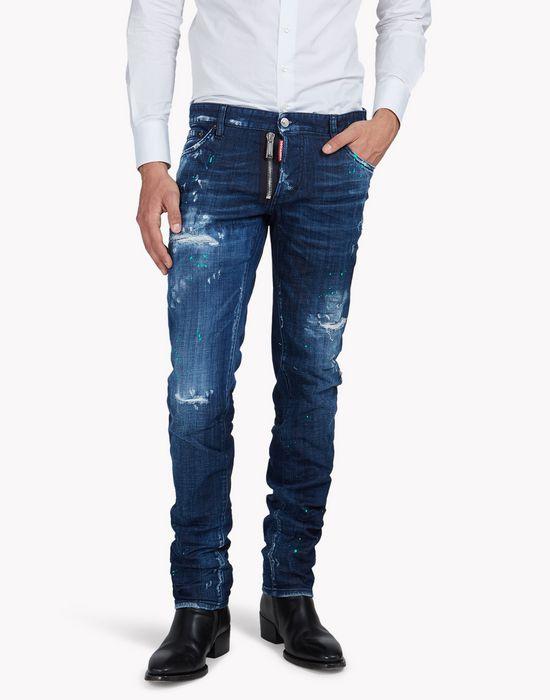 slim jeans denim Herren Dsquared2