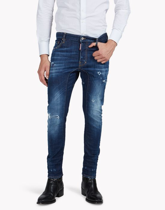 tidy biker jeans jeans  Homme Dsquared2