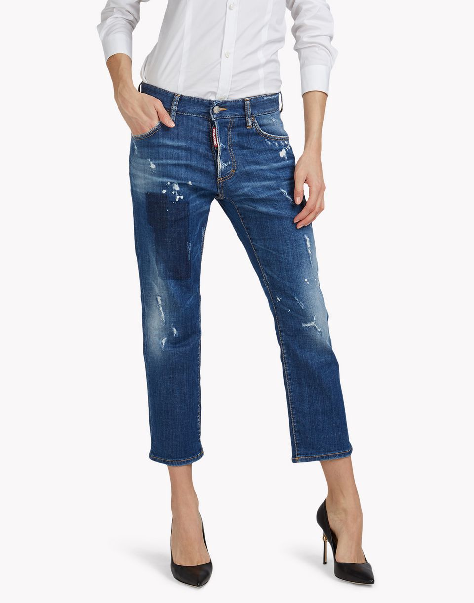 tomboy jeans denim Damen Dsquared2