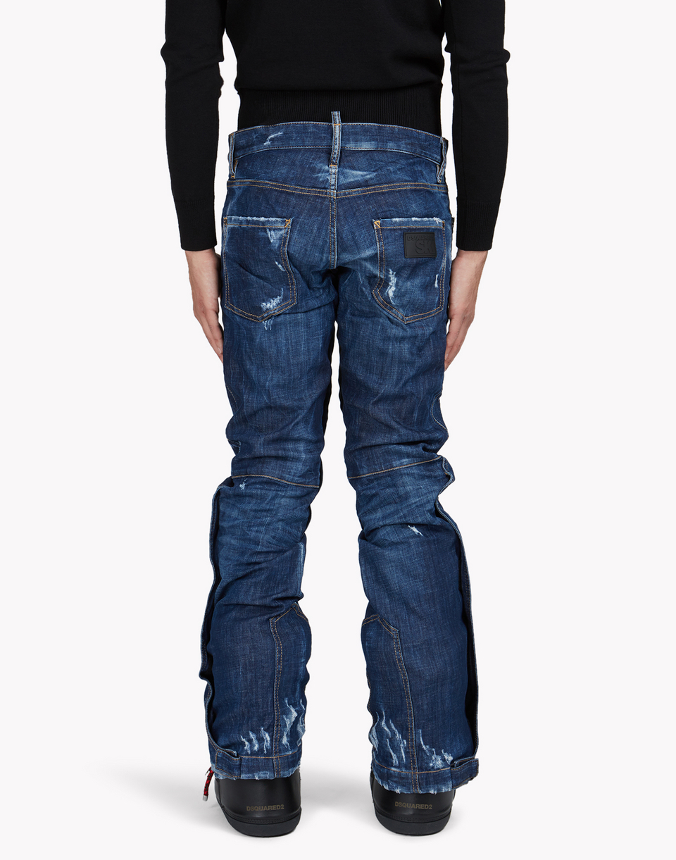 technical ski flared jeans  denim Herren Dsquared2
