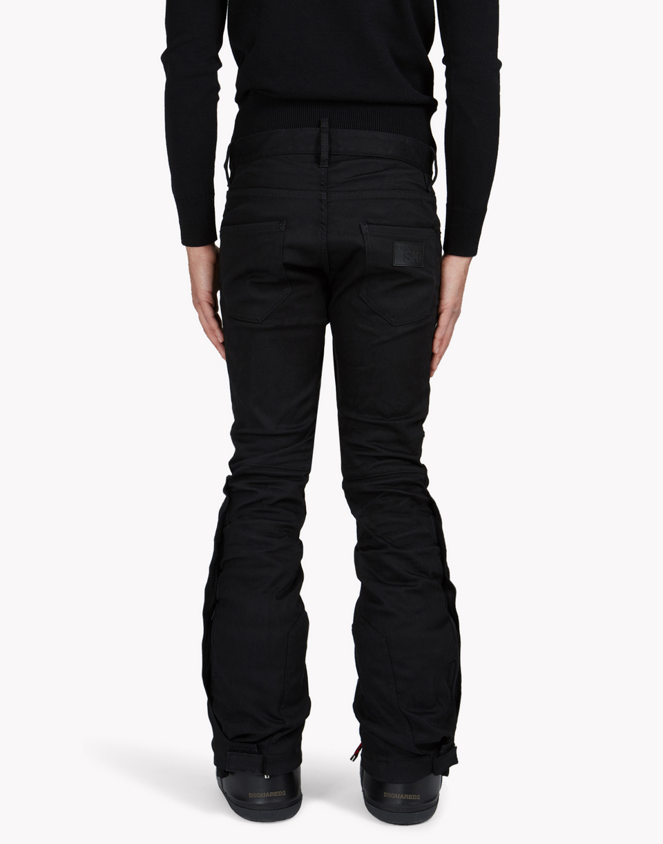 technical ski flared jeans denim Man Dsquared2