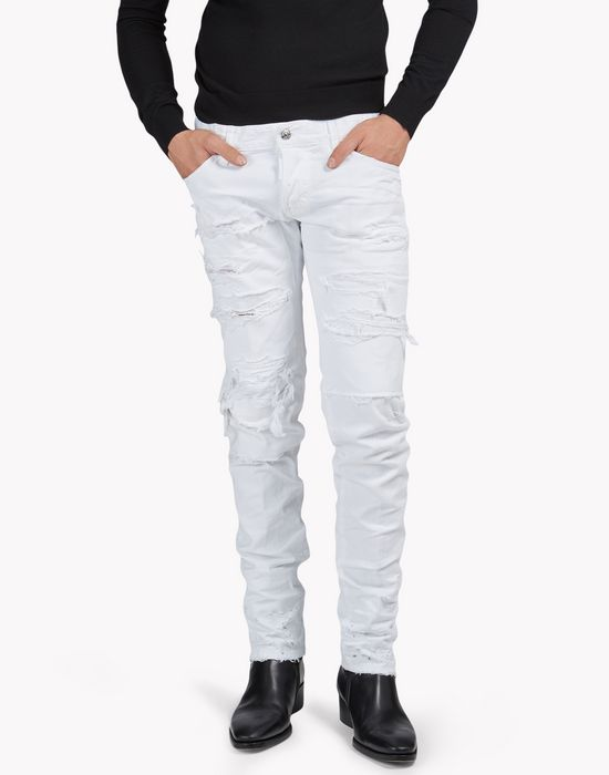 strapped slim jeans denim Man Dsquared2