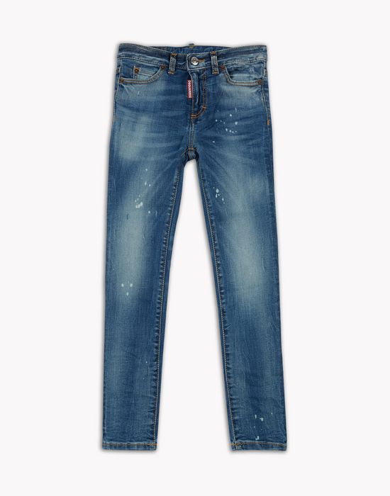 medium waist twiggy jeans denim Woman Dsquared2