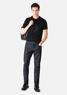 Armani Slim Jeans Men cotton denim trousers