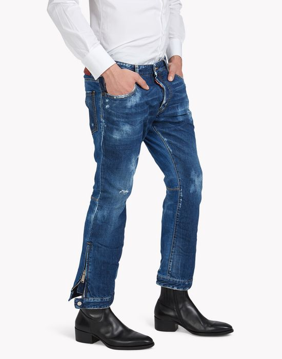 biker ski jeans denim Man Dsquared2