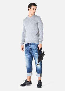Armani Loose Jeans Men jeans