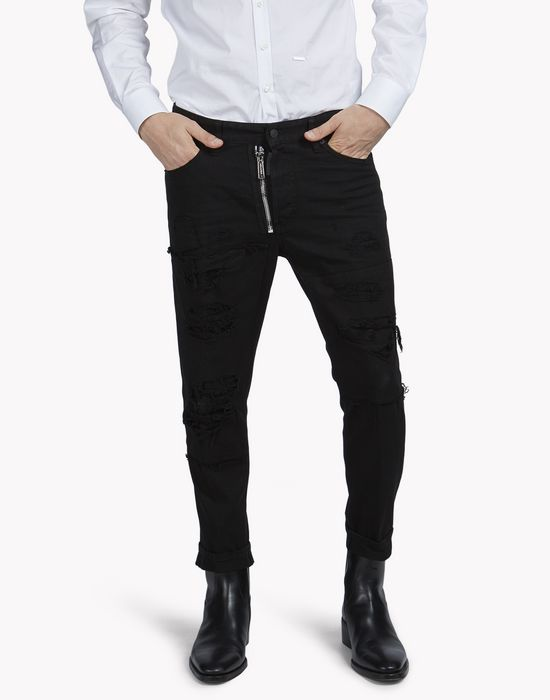 glam head jeans denim Herren Dsquared2