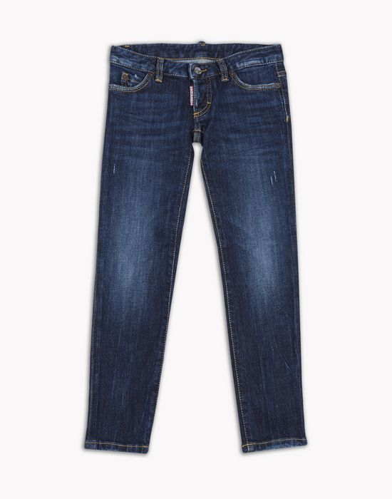 skinny jeans denim Woman Dsquared2