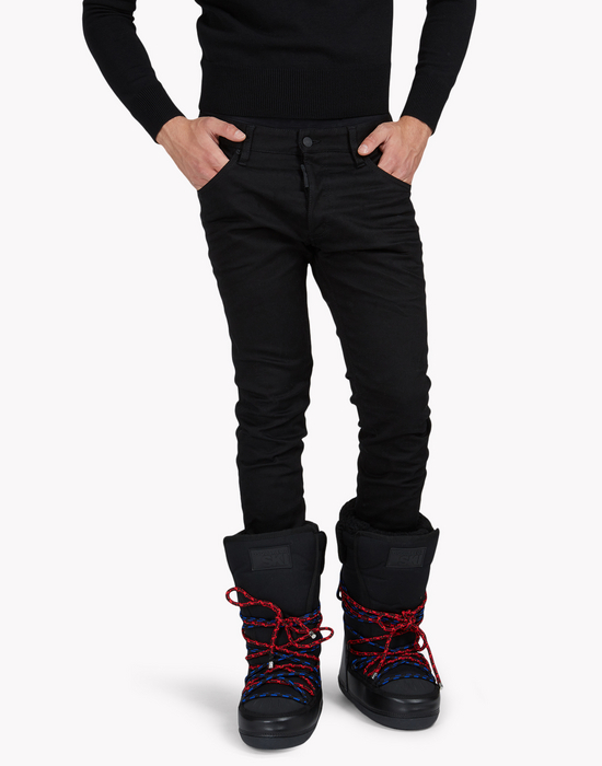 stirrup jeans denim Man Dsquared2