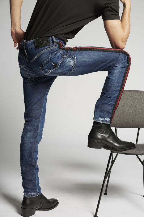 dark classic kenny jeans denim Man Dsquared2