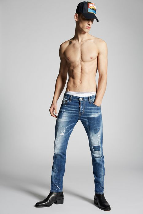 light pocket sexy twist jeans denim Man Dsquared2