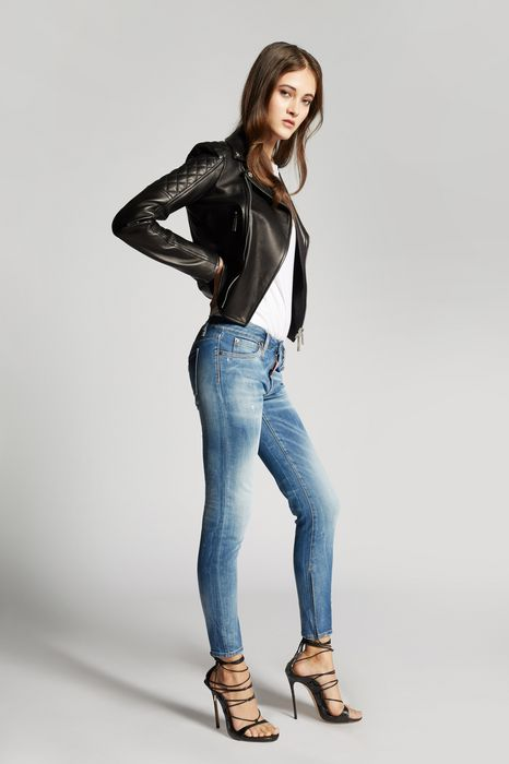 light medium waist twiggy jeans moda vaquera Mujer Dsquared2