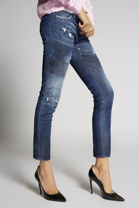 medium blue jennifer jeans джинсы Для Женщин Dsquared2
