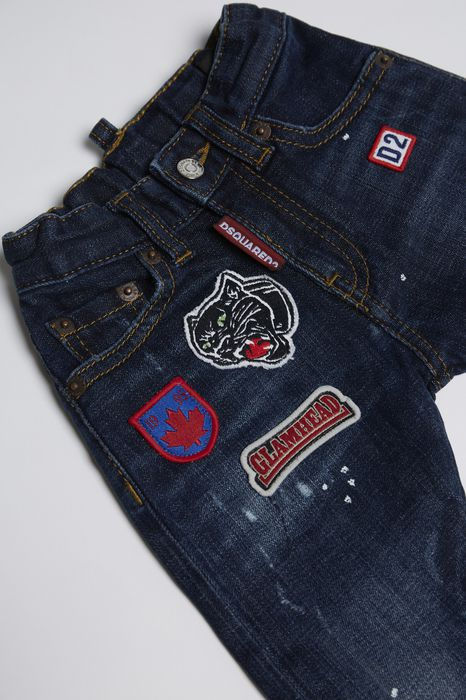 patches jeans denim Man Dsquared2