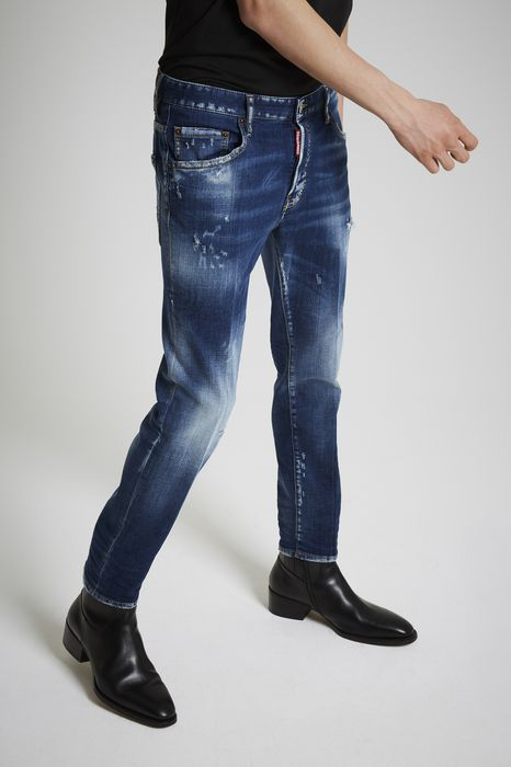 medium nothing skater jeans denim Man Dsquared2