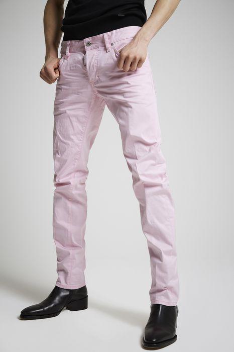 cotton slim jeans denim Herren Dsquared2