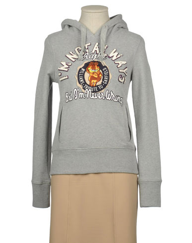 WILLIAMS WILSON - Hooded sweatshirt