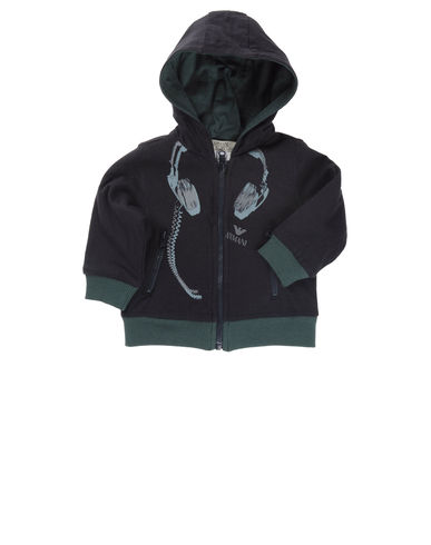 ARMANI BABY - Hooded sweatshirt