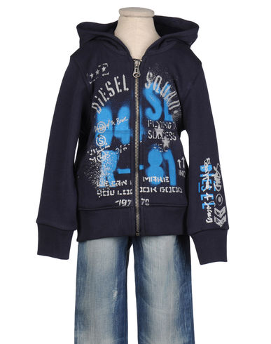 DIESEL - Hooded sweatshirt