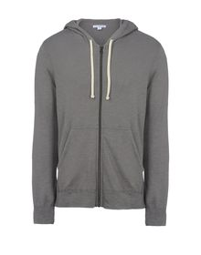 Sweatshirt mit Zipp - JAMES PERSE