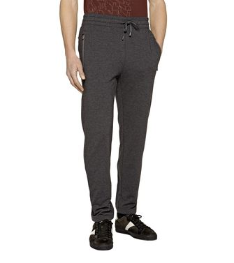 ZEGNA SPORT: Sweatpants Blue - Steel grey - 43182829HP