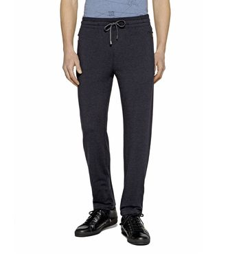 ZEGNA SPORT: Sweatpants Grey - Blue - 43182829OG