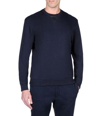 ZEGNA SPORT: Sweatshirt Blue - Steel grey - 43187549SH