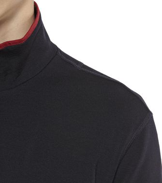 ZEGNA SPORT: Sweat-shirt Techmerino Bleu - 43188523CI