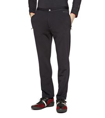 ZEGNA SPORT: Techmerino Jogging trousers Blue - Steel grey - 43188526MA