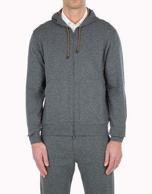 BRUNELLO CUCINELLI Fleece t-shirt U M0T529069G f
