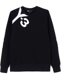 Y-3 LOGO SWEATER