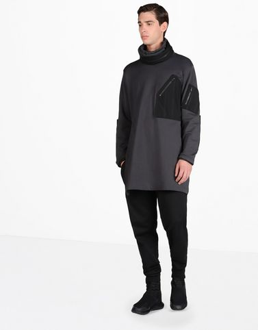 Y-3 FT MIX BALACLAVA SWEAT SHIRTS man Y-3 adidas