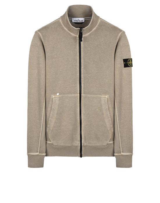 STONE ISLAND Zip sweatshirt 66460 T.CO+OLD