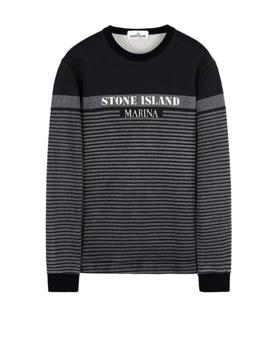 STONE ISLAND Sweatshirt 643X6 STONE ISLAND MARINA_CORROSION PRINT