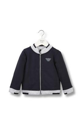 Armani Sweatshirts Men two tone track jacket with logo