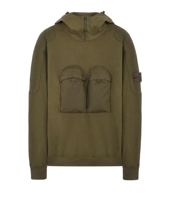 619f6 Ghost Piece Sweatshirt Stone Island Homme