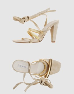 PINKO Women - Footwear - High-heeled sandals PINKO on YOOX :  pinko