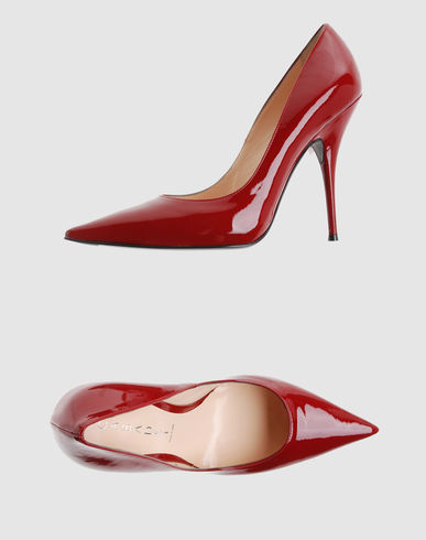 CASADEI Women - Footwear - Closed-toe slip-ons CASADEI on YOOX :  pumps designer heels patent leather